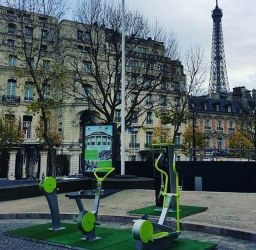 outdoor gym paris
