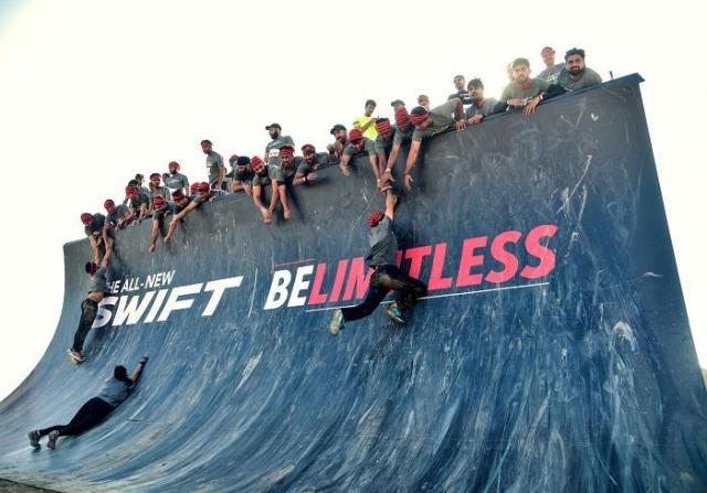 parabolic wall